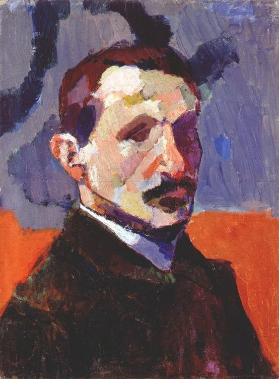 Portrait of André Derain (French, 1880-1954), by Matisse
