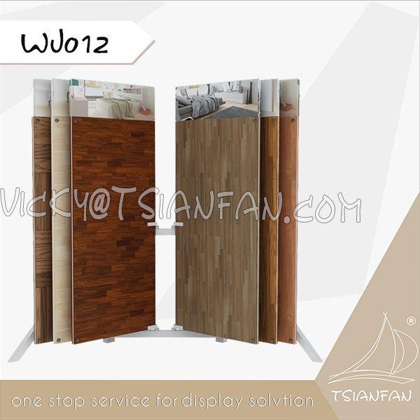 WJ012--Custom Wood Tiles Wings Display Racks