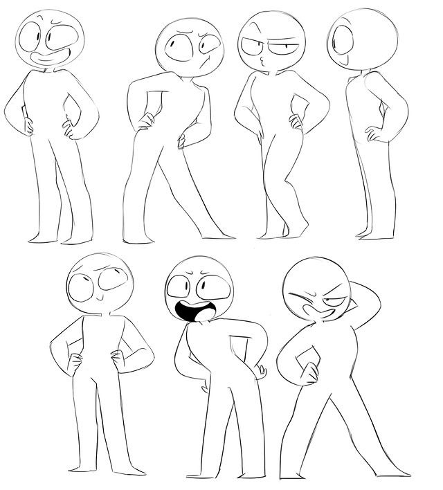 I M Probably Gonna Need This Later Cartoon Art Styles Art Reference Drawing Base