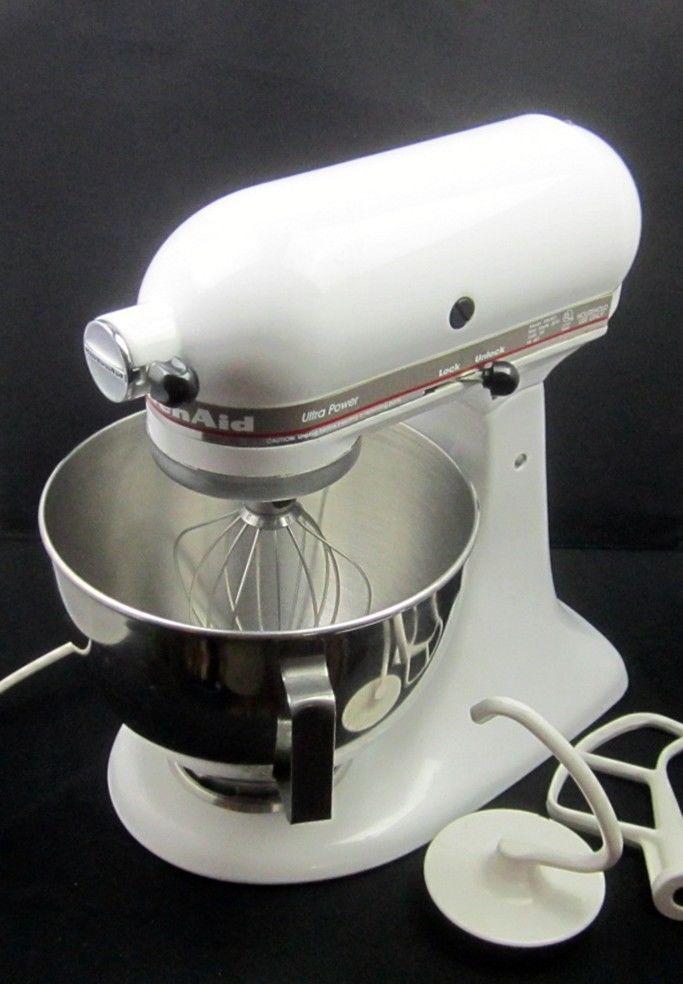 kitchenaid ultra power tilt head stand mixer with 3 beater rh pinterest com