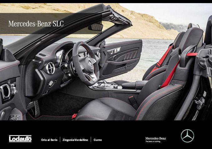 Pronti a salire a bordo di un sogno? Venite a scoprire #MercedesBenzSLC da #LodautoBergamo. Cofano motore lungo, l'abitacolo arretrato e la coda corta, evoca le tipiche emozioni di un roadster.