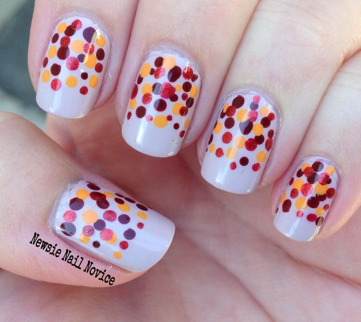 28 best Halloween and Fall Nail art images on Pinterest | Fall nail ...