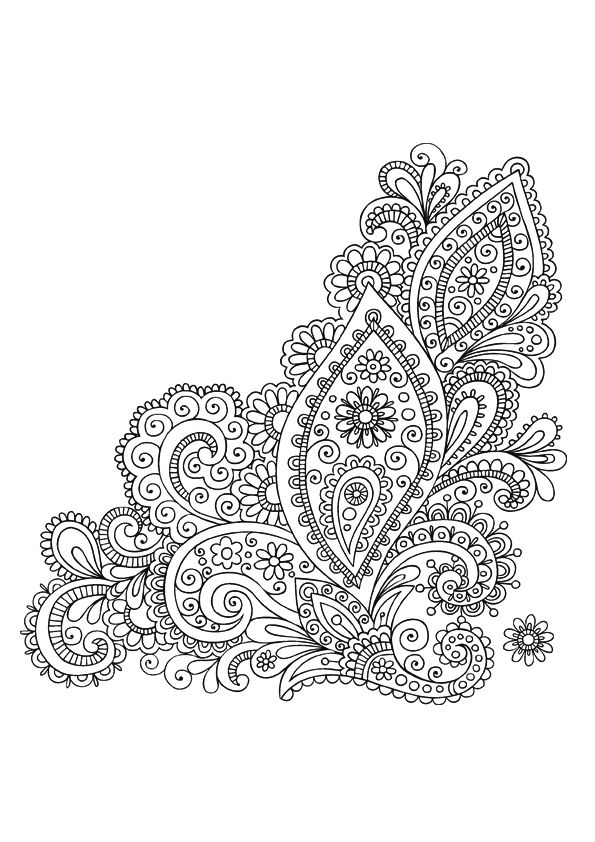 Stci coloriage pour adultes et enfants mandalas zentangle pinterest coloring design and - Mandala pour adulte ...
