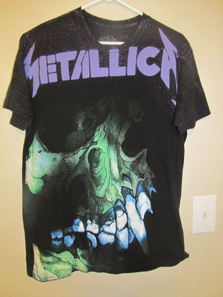 Metallica tour shirt - Adult large