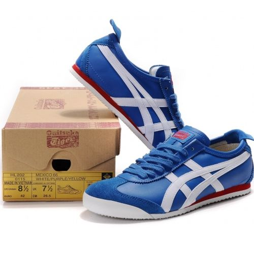 Find Onitsuka Tiger Mexico 66 Upgrades Mens Royal-Blue White Red Hot online  or in Footlocker. Shop Top Brands and the latest styles Onitsuka Tiger  Mexico 66 ...