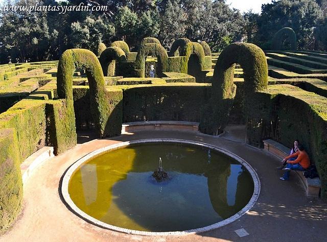 23 best images about historia estilos de jardines on for Jardin laberinto