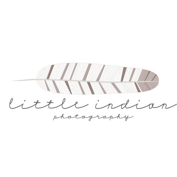 Feather Logo and Watermark by jmkcreates on Etsy, $12.00