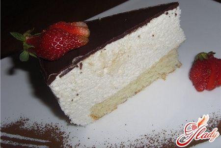 вкусный торт птичье молоко в домашних условиях