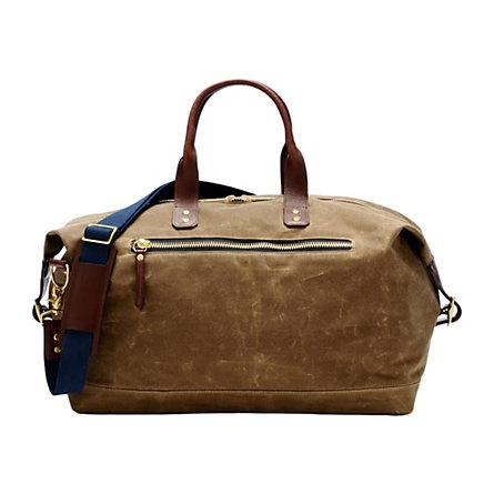 Waxed canvas