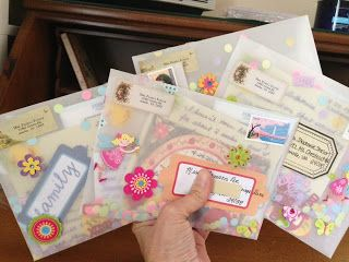 The Lost Art of Letter Writing...Revived!: Let's get TRANSPARENT (with our letter-writing)