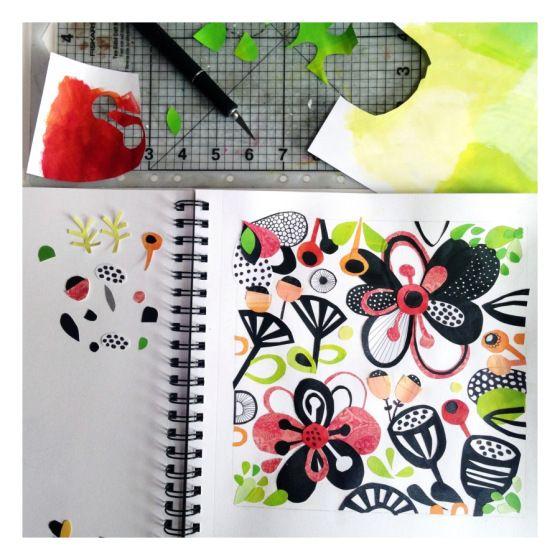 Art Journal time - Julie Hamilton Designs {artistically ...