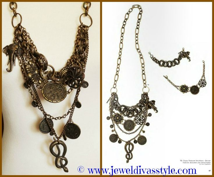 JDS - bought this SW necklace from ebay, two pieces are removable bracelets - details on the blog -   http://jeweldivasstyle.com/brand-new-jewellery-bargains-so-far-this-year/