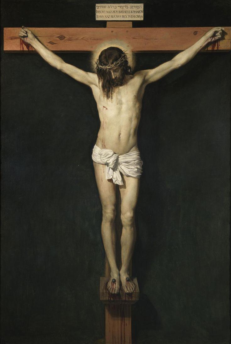 Cristo crucificado -Velázquez