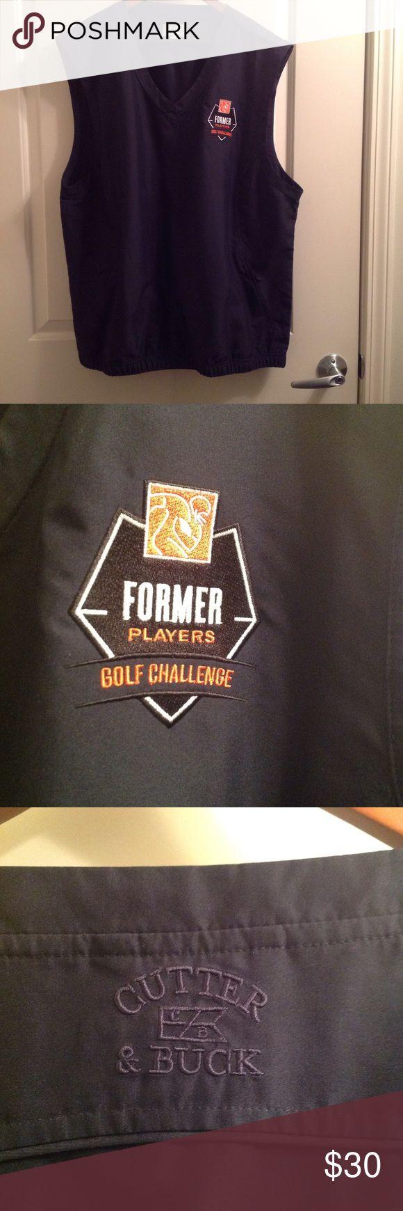 NFL players association golf vest Cutter & Buck NFL Former Players Association Golf Vest Cutter & Buck Other