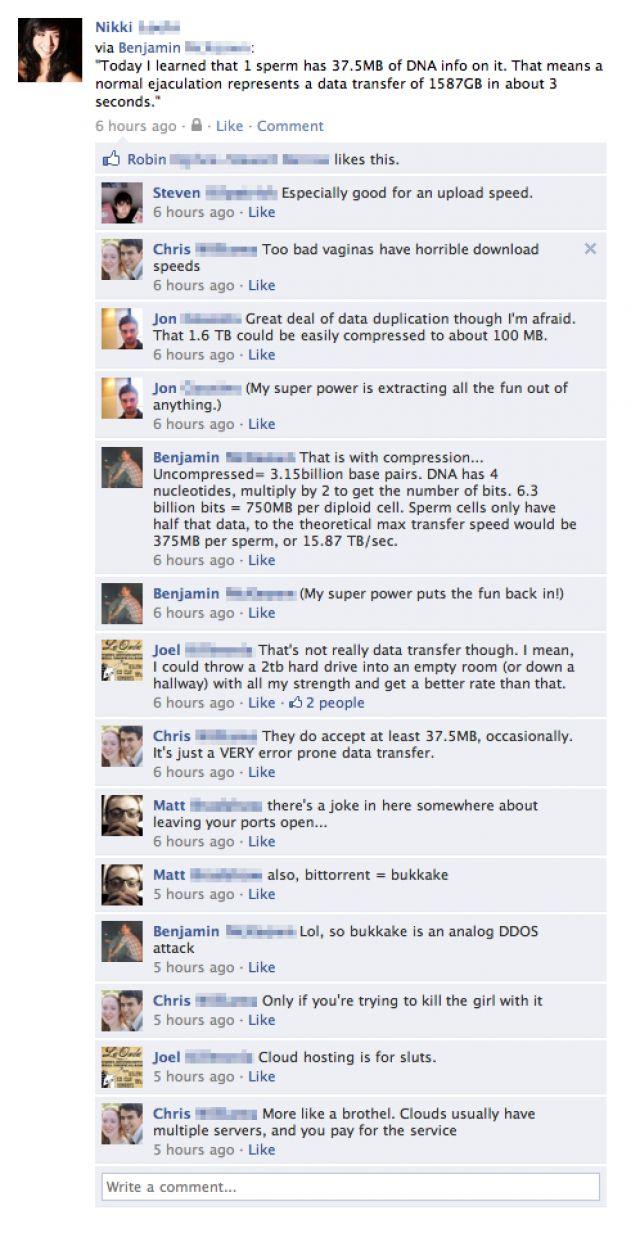 20 Funny Facebook Status Updates