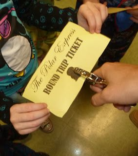 Polar Express Day :: tickets are a cute touch  Tunstall's Teaching Tidbits: All Aboard The Polar Express
