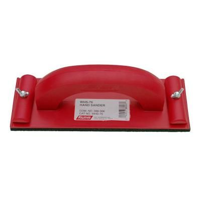 Wal-Board Tools 3-1/4 in. x 9-1/4 in. Plastic Hand Sander-88-006 at The Home Depot