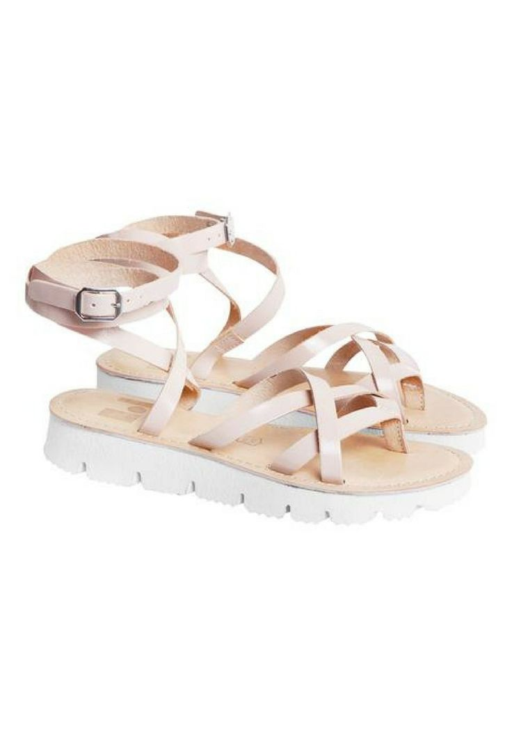 The Finery - Dept. Of Finery -Tulum Sandals In Blush