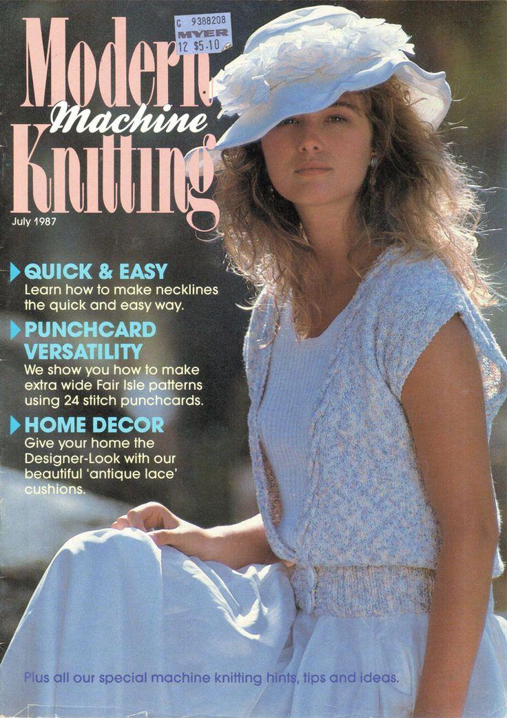 17 Best Machine Knitting News Magazine Images On Pinterest Knits