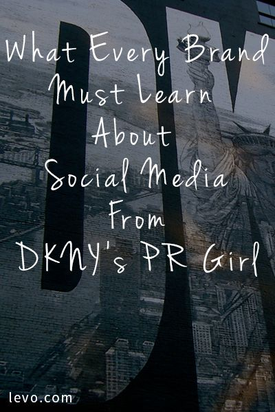 """""""I find things that I like and then I turn them into social moments"""" -@DKNY   Organic content rules."""