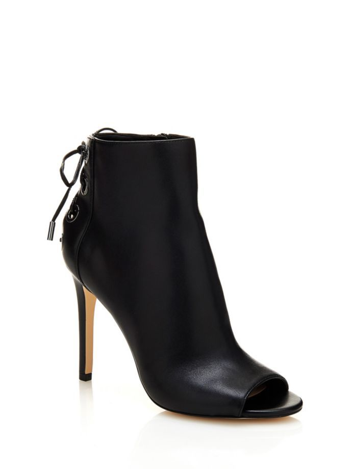 EUR175.00$  Watch now - http://vivpp.justgood.pw/vig/item.php?t=f9zv1hf36596 - PATERRA PEEP-TOE ANKLE BOOT