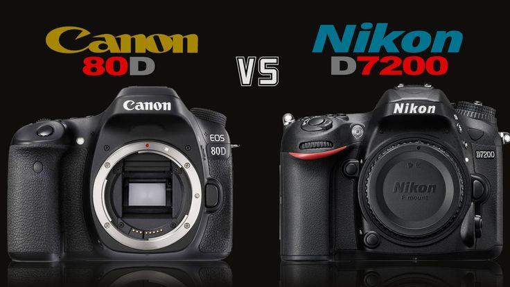 awesome Canon 80D vs Nikon D7200 Camera Comparison Check more at http://gadgetsnetworks.com/canon-80d-vs-nikon-d7200-camera-comparison/