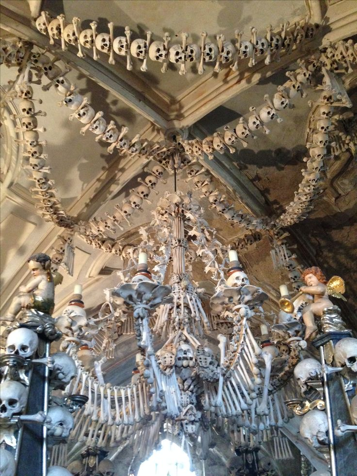 Bone Church in Kutna Hora in the Czech Republic