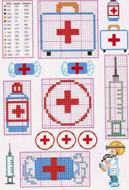 27 Best Images About Nurse Doctor Cross Stitchs On