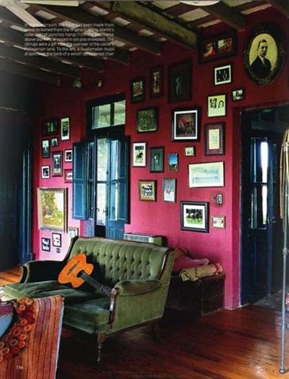 Saweet home inspiration pinterest - Decoracion vintage salon ...