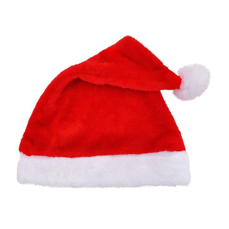 Thick plush luxury Christmas hats
