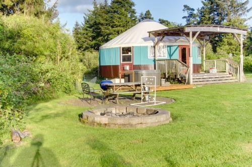 Dog Friendly Yurts Oregon Coast