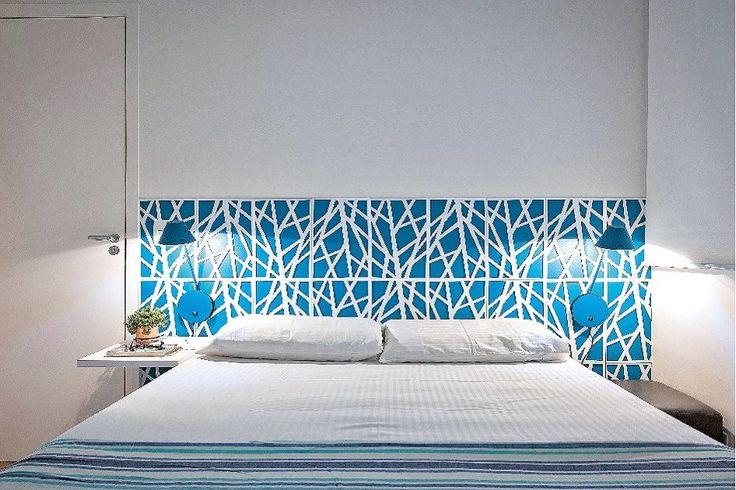 Hora de relaxar: tons neutros reforçam a sensação de ambiente tranquilo nos quartos