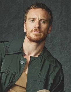 Michael Fassbender. It's great to pin his pictures while trying to get over your ex.