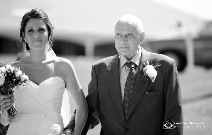 Emotive Moments Photography — Wedding photography shoot for Ben & Anna on Central Coast NSW - Anna Aisle Bw Logo