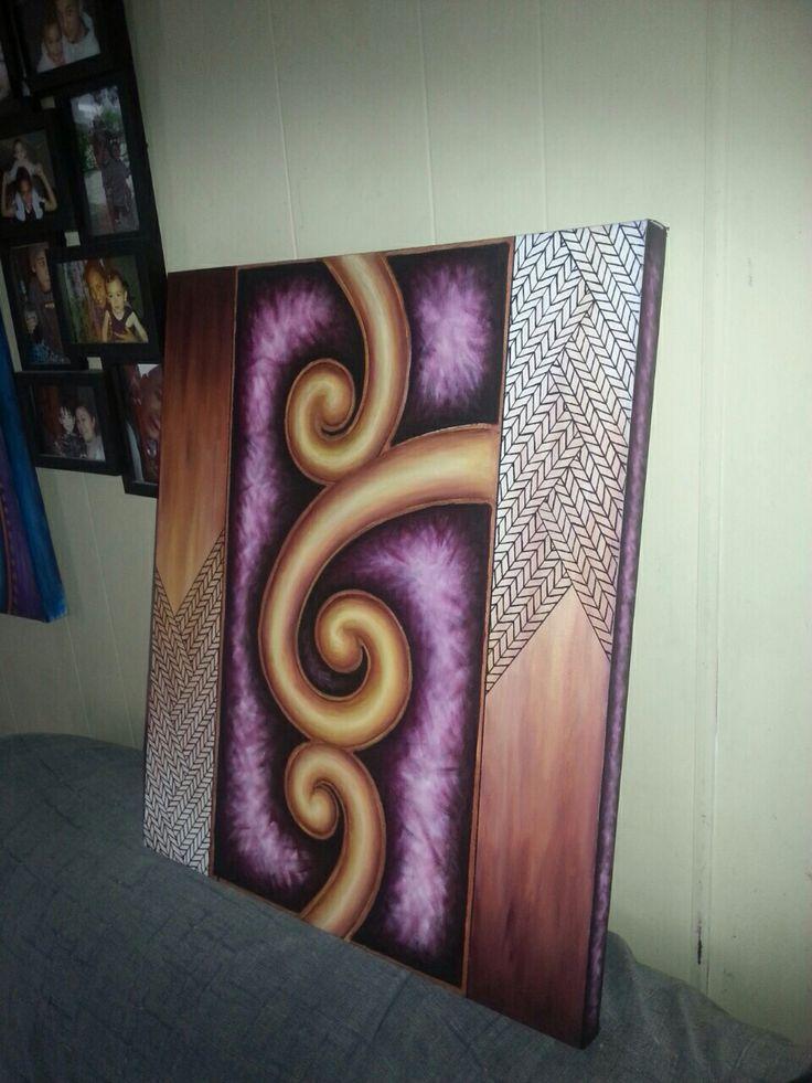Maori contemporary abstract