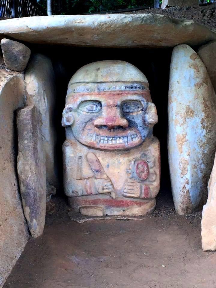 Colombia - Parque Arqueológico Nacional, San Agustín, Huila.