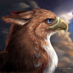 Gryphons are notorious for their ongoing dispute with the dragons. People tend to chose gryphon steeds over dragons, due to the fact that they are easier to train and ride.