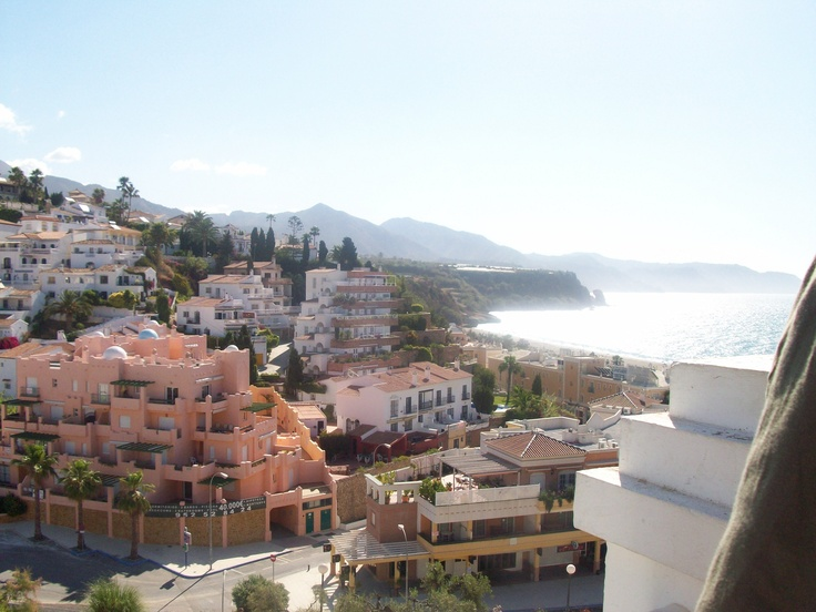 Nerja - going down to the beach