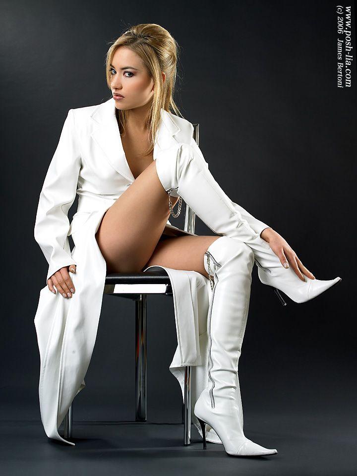 White boots porn