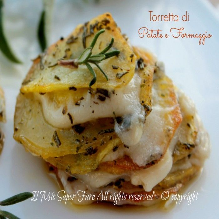 Torretta patate e formaggio
