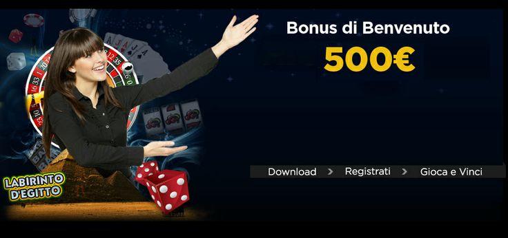 Un esclusivo #bonus di Benvenuto del valore di €500 :- Godete di #casinobonus fino a 500€ come parte del pacchetto di benvenuto al #casinò 888. Disponibile anche il #casinobonusitalia Special Happy Hour. Più dettagli qui.