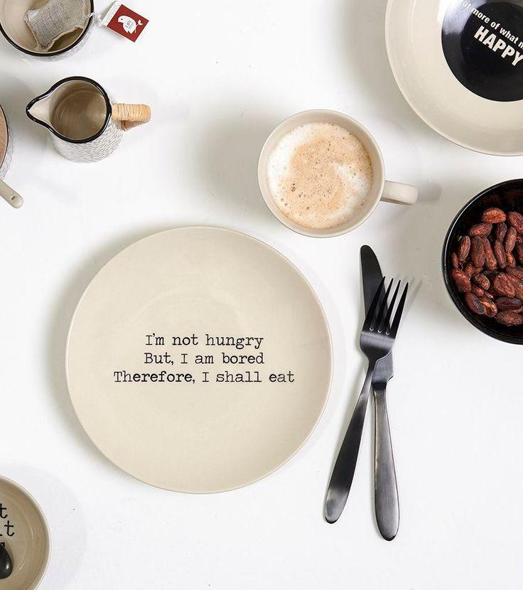 Asigura un decor atemporal servirii mesei prin ceramica rustica si nuante pastelate! #SomProduct #inspiring #comfort #hungry #bored #eat #decor #style #happyliving #quote