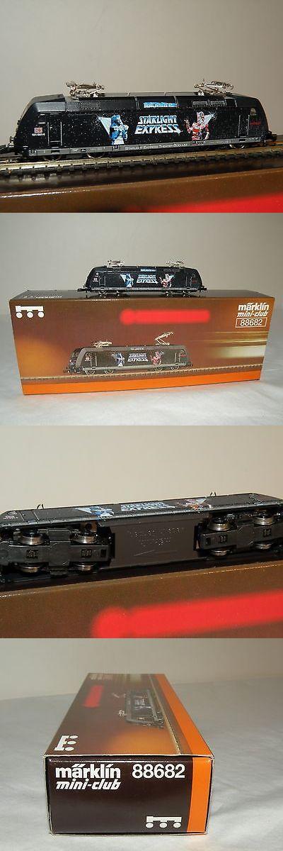 Locomotives 96856: Marklin Z Gauge 88682 Db Br 101 Starlight Express Electric Locomotive C10 -> BUY IT NOW ONLY: $195 on eBay!