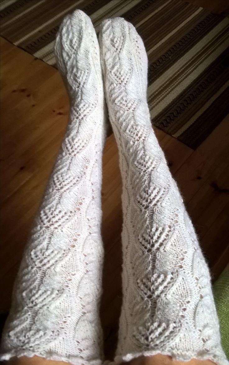 Det blev ett par sockor till 😃  Novita Nalle