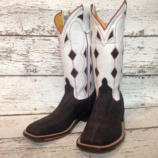 "Anderson Bean ""Double Down"" cowboy boots from @themulebarn"