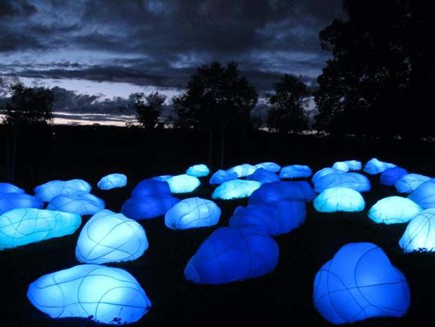 Blue Cocoons