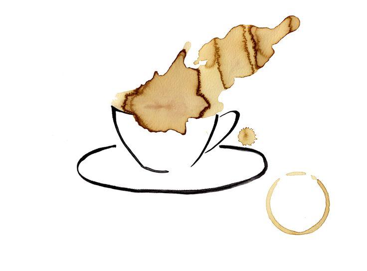 #coffee #aquarel
