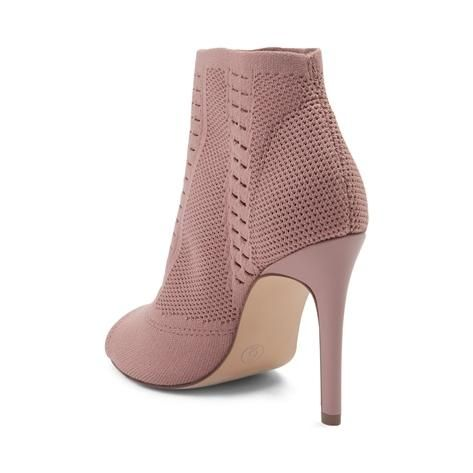 Glam out your chic style with the edgy new Didi Heel from Madden Girl! The Didi Heel rocks a peep-toe bootie design, crafted with lightweight, stretch mesh uppers sitting atop a lustrous stiletto heel. <b>Available at SHI by Journeys stores and online at Journeys.com and SHIbyJourneys.com!</b>  <br><br><u>Features include</u>:<br> > Open-toe design with perforated detailing<br> > Stretch mesh upper provides a sock-like fit<br&...
