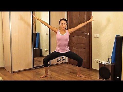 3 упражнения для похудения и плоского живота!!! - YouTube