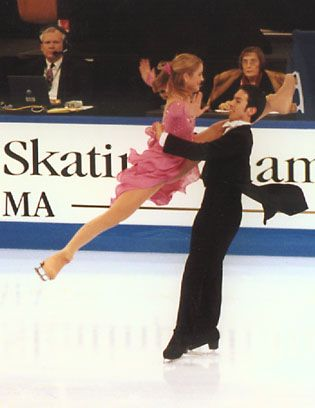 Belbin and Agosto ice dance skating photos, U.S. National Exhibitions 2001 - Webwinds Figure Skating Photo Gallery, Tracy Marks